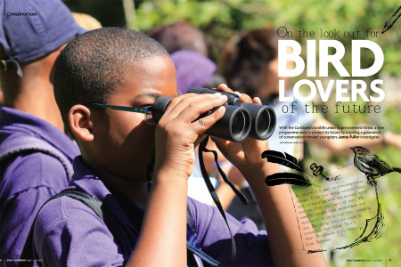 Flagship education program BirdSleuth Caribbean was featured in ZiNG magazine.