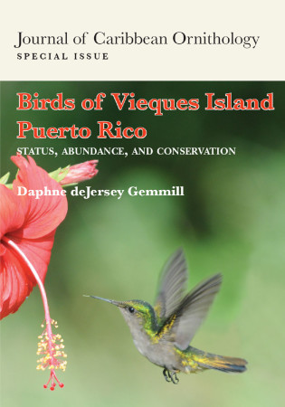 A beautiful special issue from the Journal of Caribbean Ornithology.