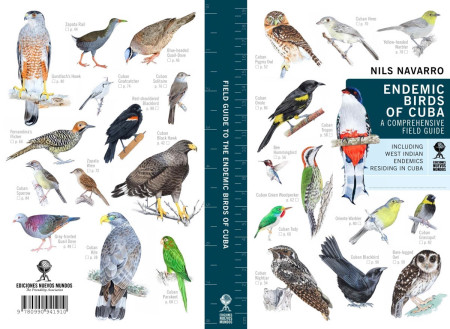 The revolutionary new field guide, Endemic Birds of Cuba – A Comprehensive Field Guide, was over ten years in the making.
