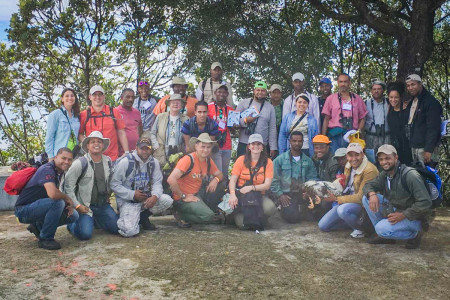 Twenty-four students participated in the Caribbean Birding Trail Training in the Dominican Republic.