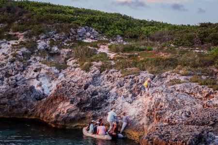 The Cay Sal Bank remains remote and difficult to access. (Photo by Mike Sorenson)