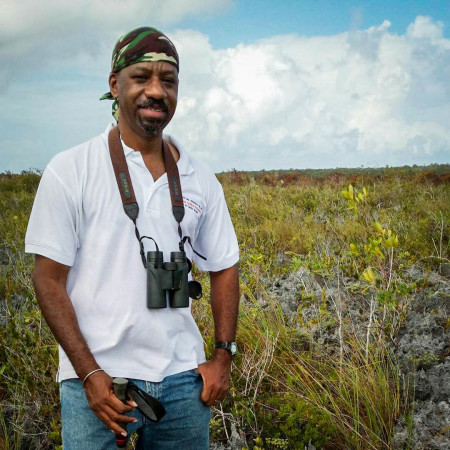 Involvement in BirdsCaribbean has been an opportunity to give back to an organization that inspired him.