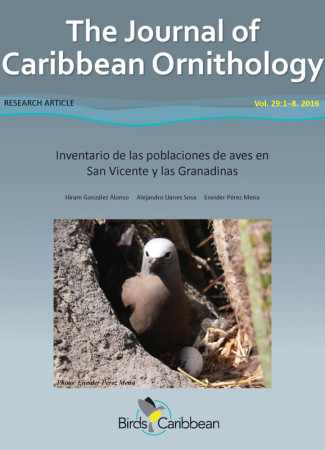 The Journal of Caribbean Ornithology is a free, peer-reviewed journal produced by BirdsCaribbean.