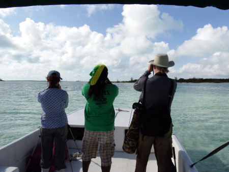 CWC surveyors in The Bahamas. (photo by David Jones)