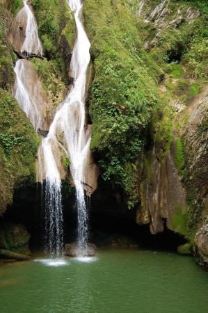 Vegas Grande waterfall was one of the many amazing sites in Topes de Collantes. (Photo by Arnaldo Toledo)