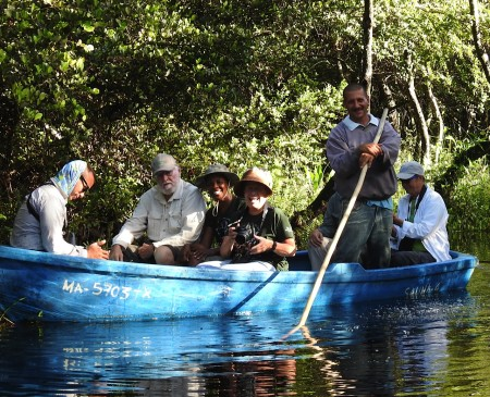 Heading out into Zapata Swamp. (Photo by Ericka Gates)