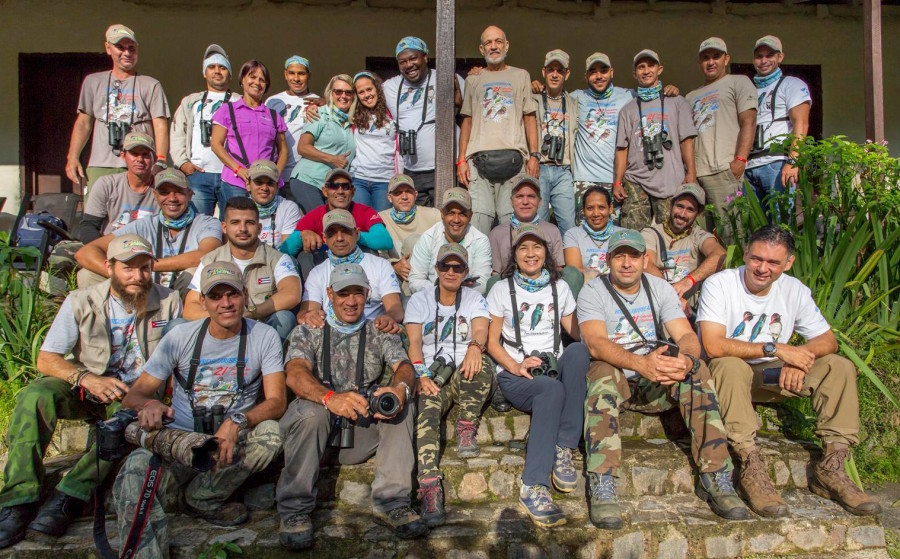 Workshop participants and trainers at Topes de Collantes. (photo by Aslam Ibrahim)