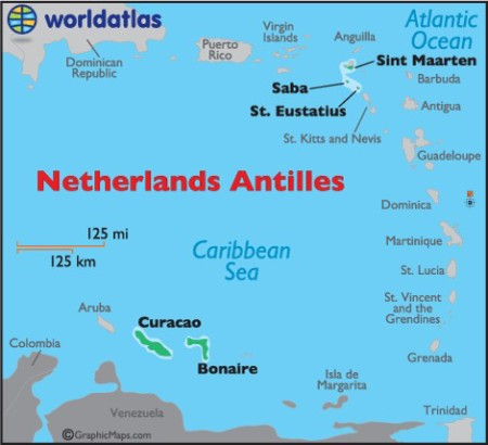 St. Eustatius is located in the northern Lesser Antilles and forms part of the Caribbean Netherlands. It has a land mass of 11 square miles and a human population of around 3.500.
