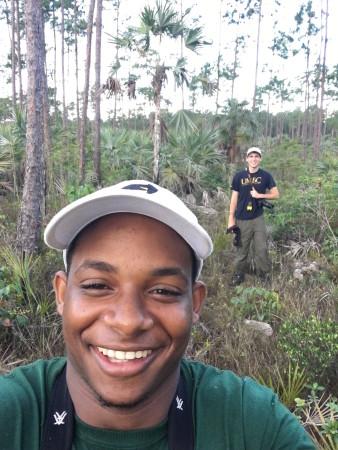 A memorable selfie