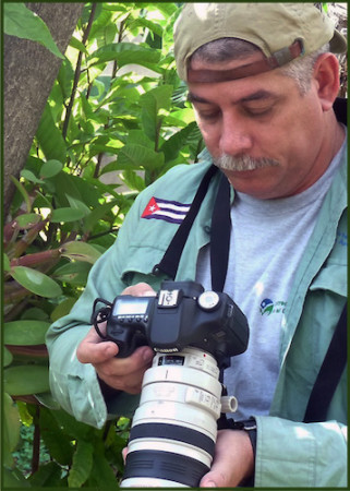 Dr. Nicasio Viña Dávila, Conservation Biologist, Technical Coordinator of the Caribbean Biological Corridor.